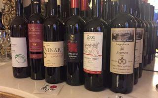 Лучшие грузинские вина — названия и характеристики