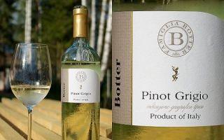 Пино Гриджио (Pinot Grigio) — качественное итальянское вино