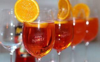 Апероль Шприц — простой рецепт приготовления коктейля