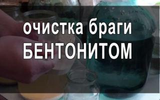 Как очистить брагу в домашних условиях бентонитом