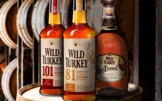 Американский виски Wild Turkey — качественный бурбон с оригинальным вкусом