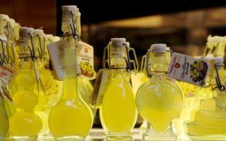 Лимончелло — рецепт приготовления итальянского ликера