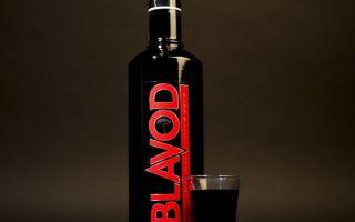 Черная водка Blavod — уникальный напиток
