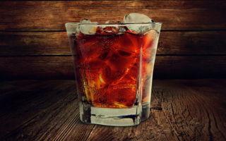 Виски с колой — пропорции коктейля
