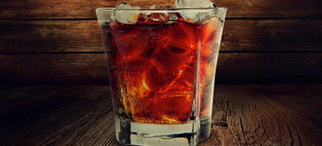 Виски с колой пропорции коктейля