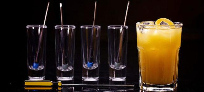 Как приготовить коктейль отвертка в домашних условиях